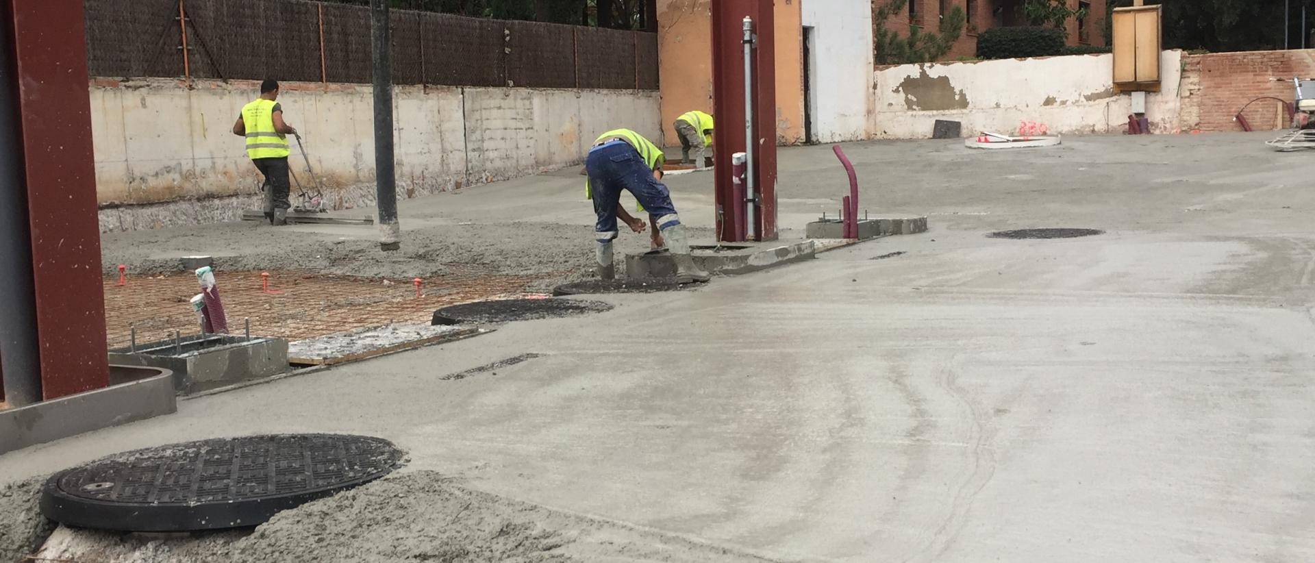 CONSTRUCCIÓN GASOLINERA EN CENTRO BARCELONA